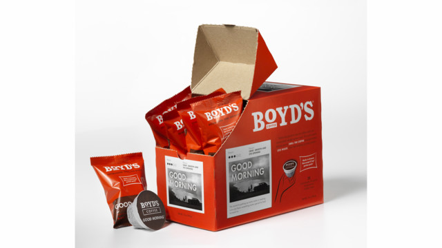 Boyd's Single-Serve Good Morning Coffee