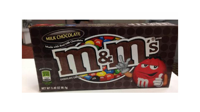 Mars Chocolate North America Issues Allergy Alert Voluntary Recall On Undeclared Peanut Butter In M&M's Brand Milk Chocolate Theater Box