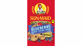 Sun-Maid Blueberry Cookies with Greek Yogurt Chips