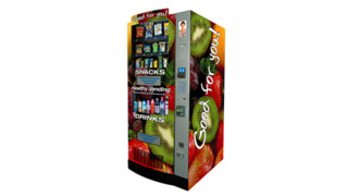 HealthyYOU Vending Machines Placed At Hill Air Force Base In Utah Provide Service Personnel With Healthy Vending Options Like Snacks, Drinks And Coffee 24/7