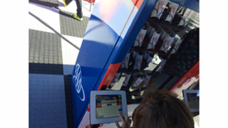 NASCAR Fans Line Up To Experience Brightline's Social-Powered Vending Machines