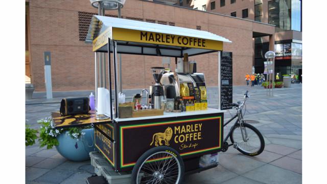 Bob Marley Coffee Vending