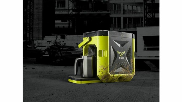 OXX Launches Tough, Portable Single-Serve Coffee Maker For Rugged Workplaces