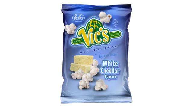 Vic's White Cheddar Popcorn