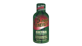Living Essentials, LLC Introduces Extra Strength Strawberry Watermelon 5-hour ENERGY®