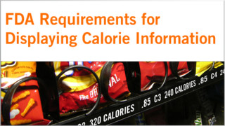 What You Need To Know About The Final Calorie Disclosure Rule