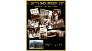 H. Betti Industries, Inc. Celebrates Its 80th Anniversary
