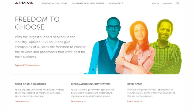 Apriva Launches New Website, Blog