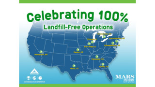Mars Chocolate North America Achieves Zero-Waste-To-Landfill Certification For All Sites