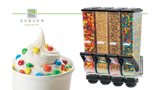 Server Products Launches New SlimLine Dry Food Dispenser