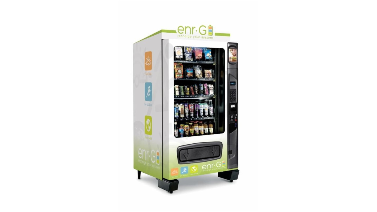 Canteen Introduces Wellness-Focused Vending Solution enr.G