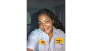 2015 Route Driver of the Year Quarterly Winner, Candi Greenwald Snackworks, Inc., Bradenton, FL
