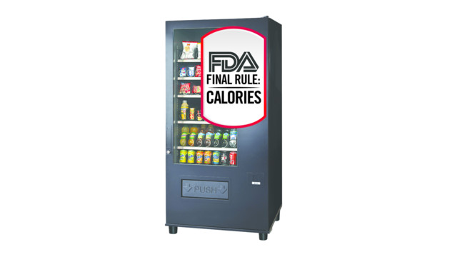 NAMA Shares Update, Guidance On FDA's Vending Machine Calorie Disclosure Rules