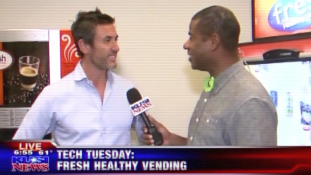 Fresh Healthy Vending International, Inc. Debuts New Fresh Micro Market On Good Morning San Diego
