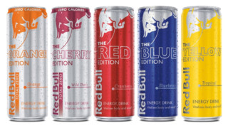 Three New Red Bull® Editions Flavors, Including Zero Calorie, Zero Sugar Options, Now Available