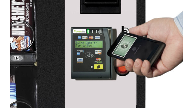 U-Select-It Announces New Greenlite Option For Card And Mobile Payments Available On All USI Products