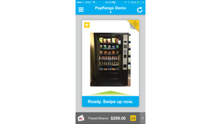 PayRange Unveils Vending Industry's First Point-Of-Purchase Offers Platform