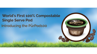 Club Coffee Announces World's First 100% Compostable, Fully Certified Single-Serve Coffee Pod, The PurPod100