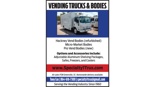 Vending Trucks and Bodies