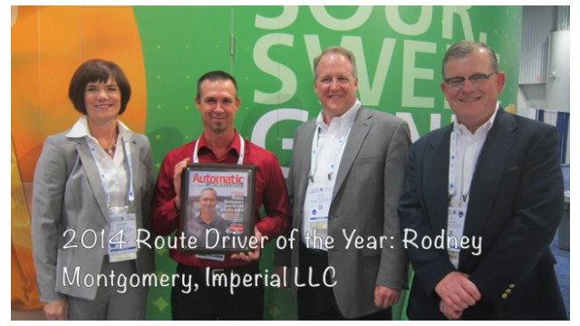 2015 NAMA OneShow Route Driver of the Year Presentation