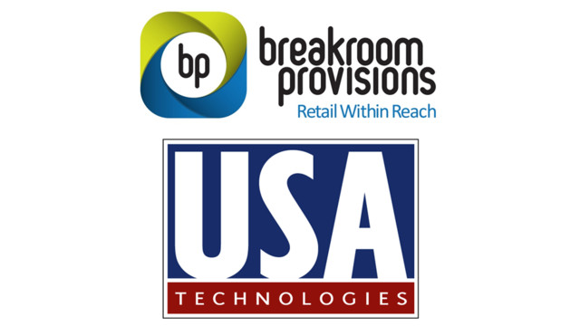 Breakroom Provisions, USA Technologies Announce Partnership