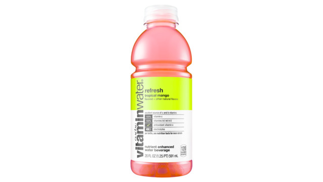 Vitaminwater® To Introduce Two New Varieties
