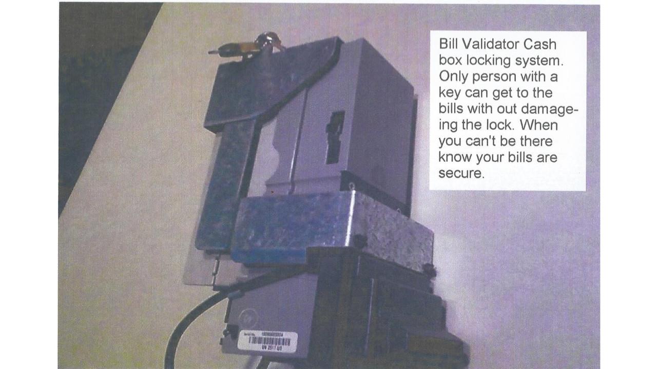 E Lock Vending Machine Cash Box Locking System