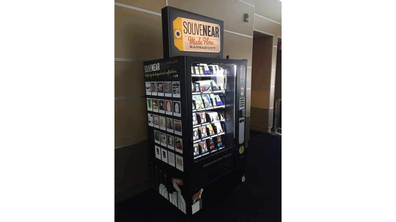 Vending Machine Business Selling Locally Made Products