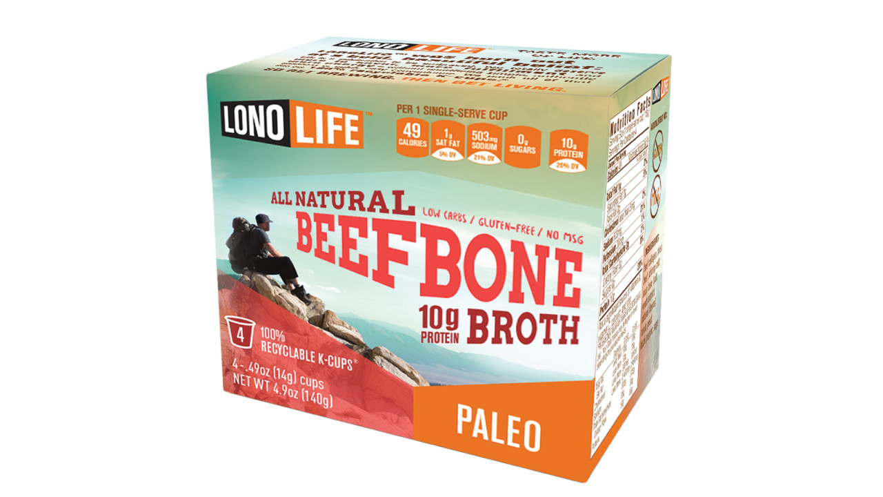 New Product Announcement Lonolife Bone Broth K Cups 174