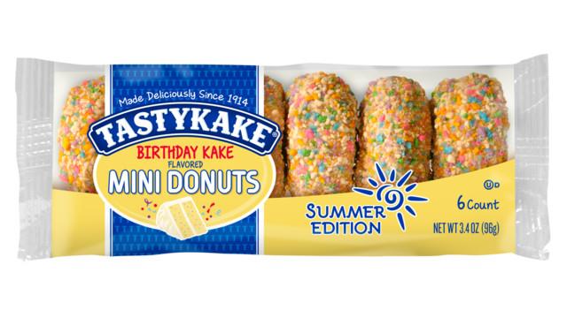 Tastykake Birthday Cake Donuts