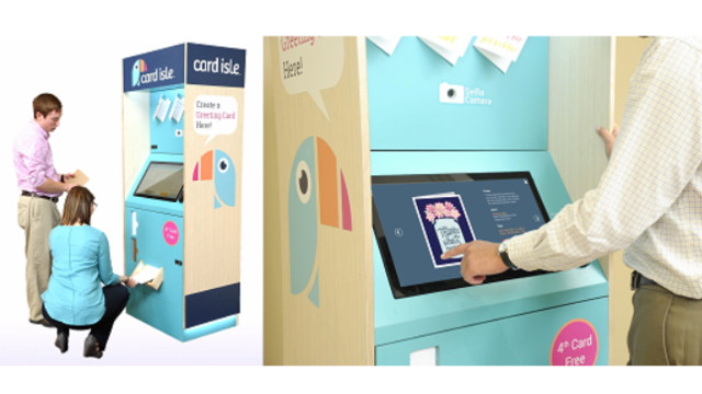 Card isle expands fleet of greeting card kiosks in partnership with card isle expands fleet of greeting card kiosks in partnership with aafes m4hsunfo Image collections