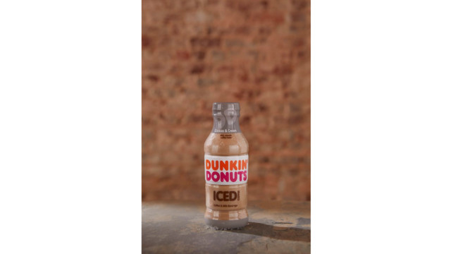New Cookies Cream Sweetens Dunkin Donuts Lineup Of Bottled Iced Coffees