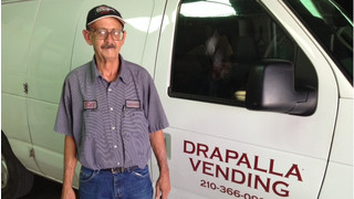 2014 Route Driver Of The Year Quarterly Winner, Billy Thornblom, Drapalla Vending, San Antonio, TX