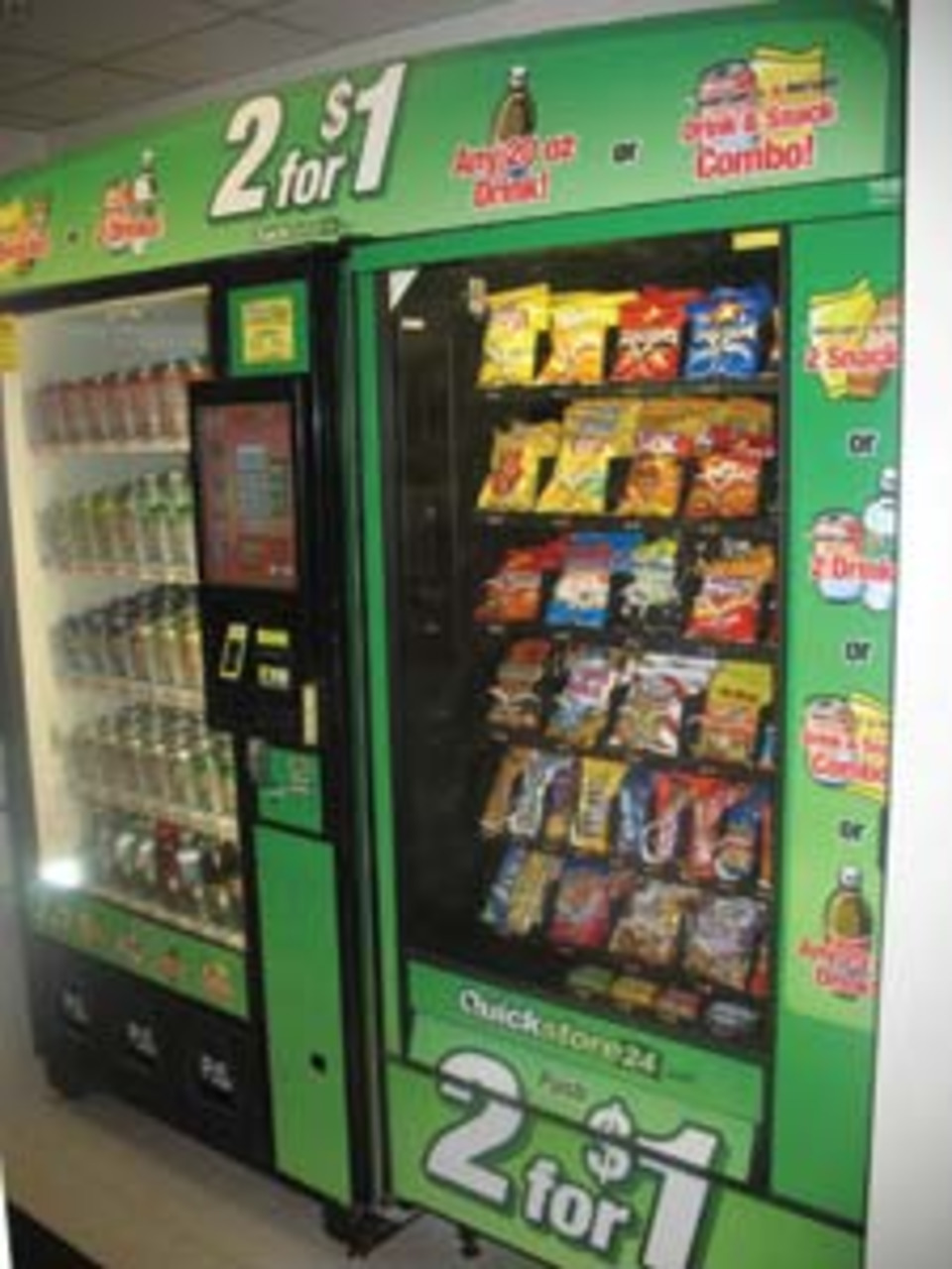 High-tech Vending System Grabs Placements
