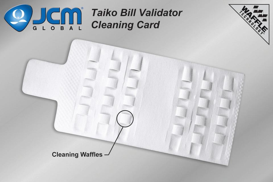 KICTeam, Inc  KICTeam JCM Taiko Bill Validator Cleaning Cards in