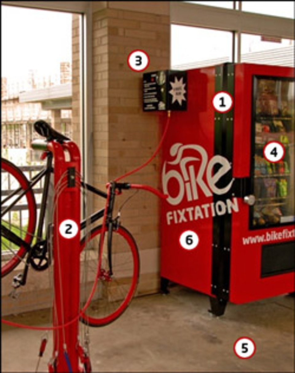 Inventor Installs Bicycle Repair Vending Machine In Minneapolis Minn