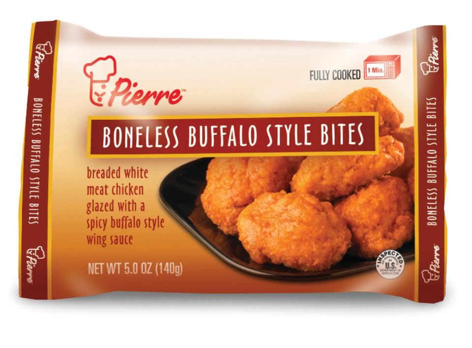 Tyson Foods Pierre Boneless Buffalo Chicken Bites In Food