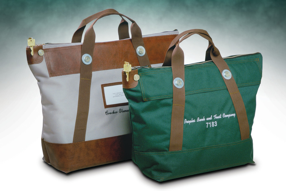 A Rifkin Co Introduces Its Heavy Duty Commercial Grade Courier Bag Each Is Manufactured With Built In High Security Lock That