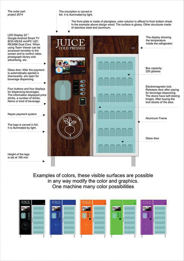 Juice Cold Pressed Announces Automatic Raw Juice Bot On