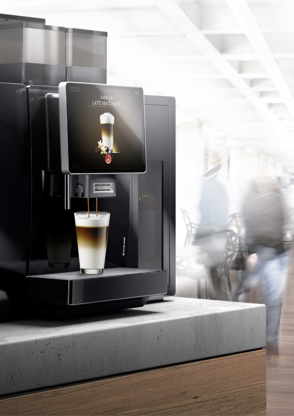 Franke Coffee Systems Launches The A800 High Volume Single