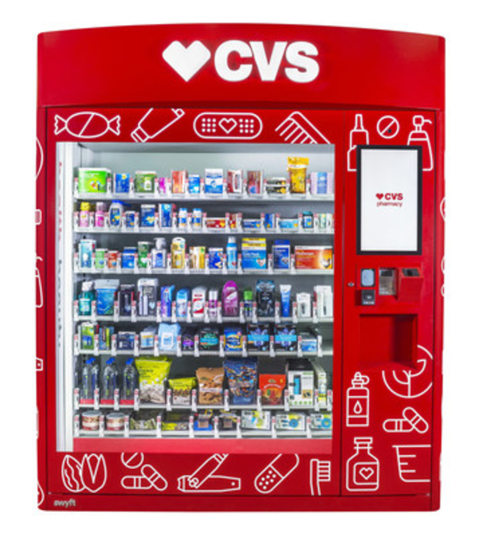 Cvs Enters Vending Market With 25 Automated Retailers