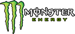 怪物能源标志白色