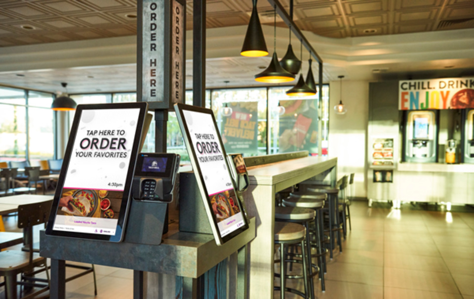 photograph about Taco Bell Printable Application named Taco Bell® Kiosks Get 2019 Least complicated Cafe ICX Within 2019