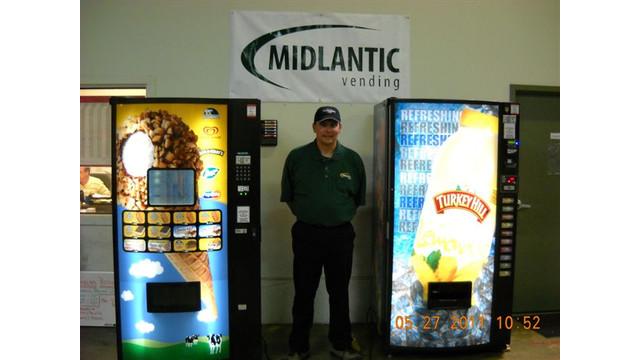 Quarterly Route Drive Winner: Steve Jenkins, Midlantic Vending, Moorestown, N.J.