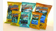 Whale Tails Tortilla Chips Flavors - Hawaiian BBQ And Blue Corn