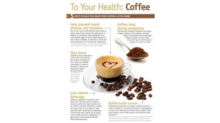 To Your Health: Coffee