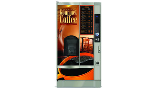 Crane Cafforia Hot Beverage Vending Machine