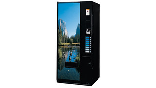 SandenVendo V21 Model 621 Beverage Machine