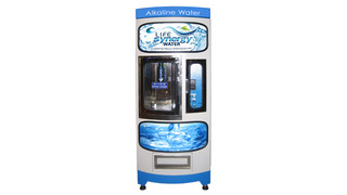 Alkaline Water Vending Machine Earns National Automatic Merchandising Association Certification