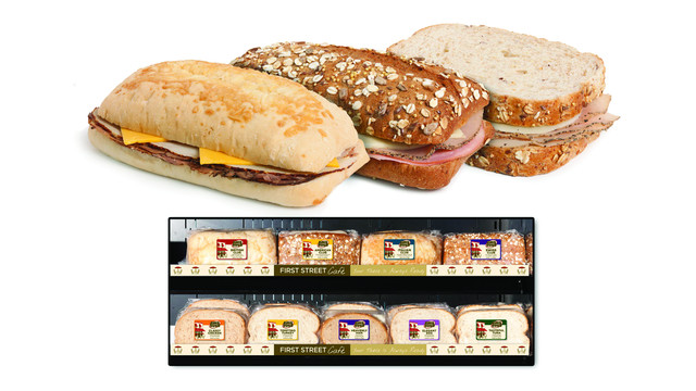 Landshire First Street Cafe Sandwiches